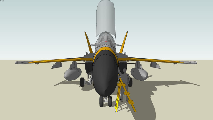 F/A-18 Delta Formation