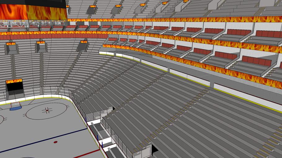 Calgary Flames Concept Arena 3d Warehouse
