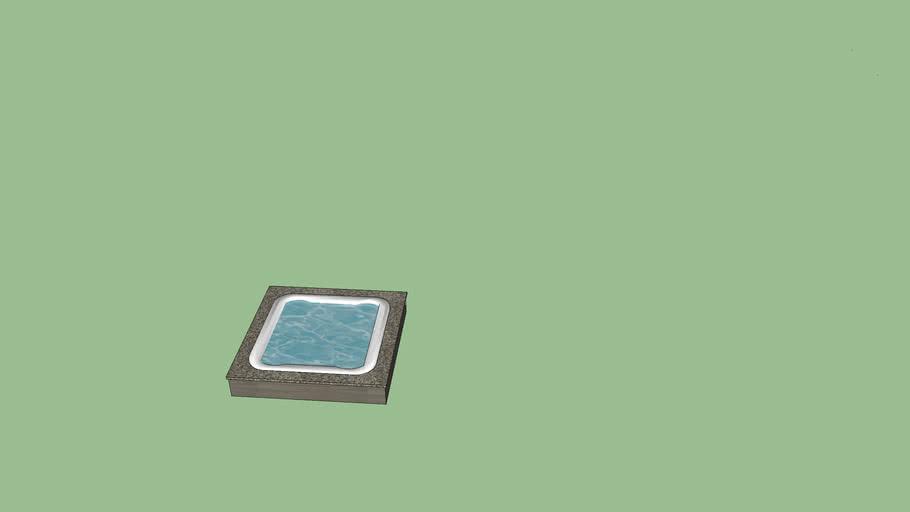 84x84 hot tub