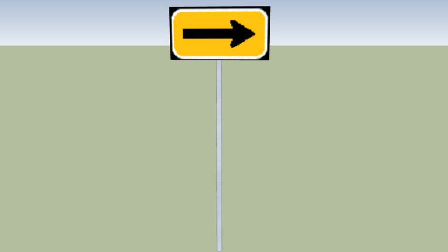 Right arrow sign