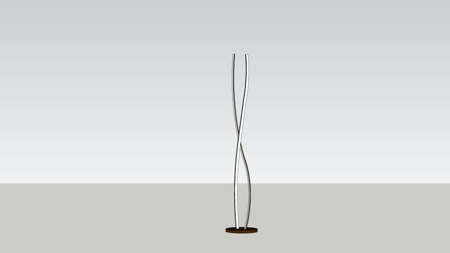 Modern stand light