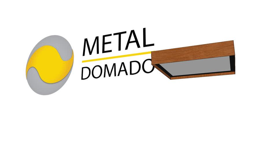 PLAFON SEQUÓIA 60CM 5501 - METAL DOMADO ILUMINAÇÃO