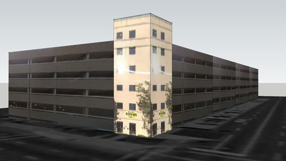 Parking garage on Raymond Blvd, Newark