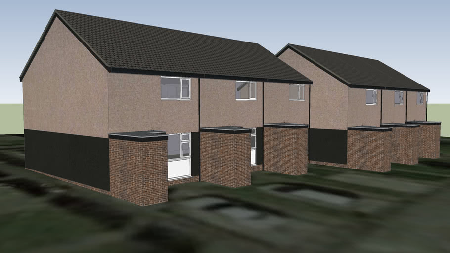 Terraced Houses, 2-12 Moorby Walk, Bolton BL3 6