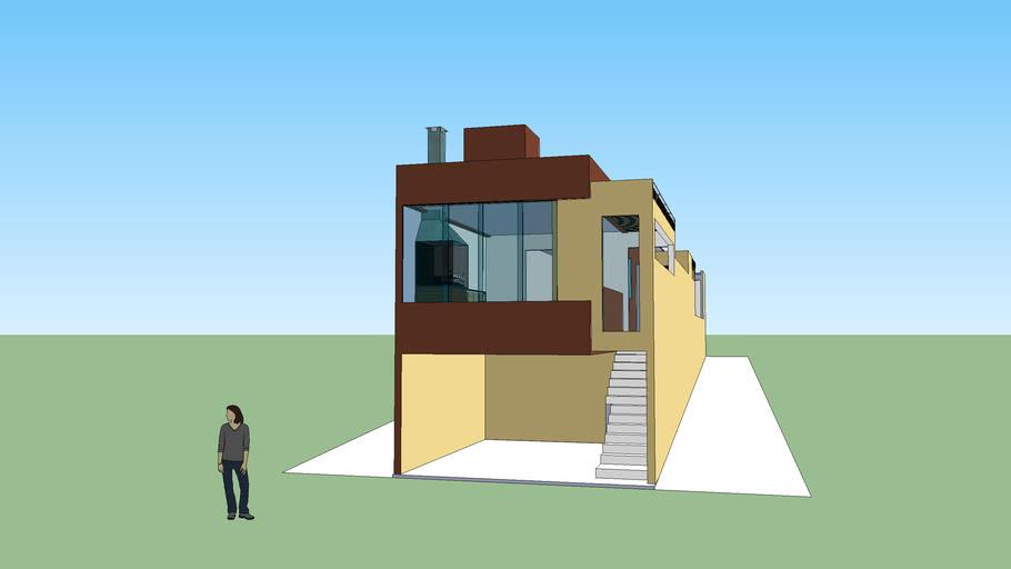 casa do Jonatas , reforma da frente execução da garagem e espaço gormet