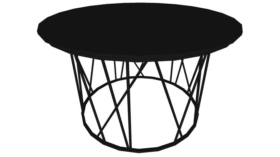 Mesinha lateral redonda