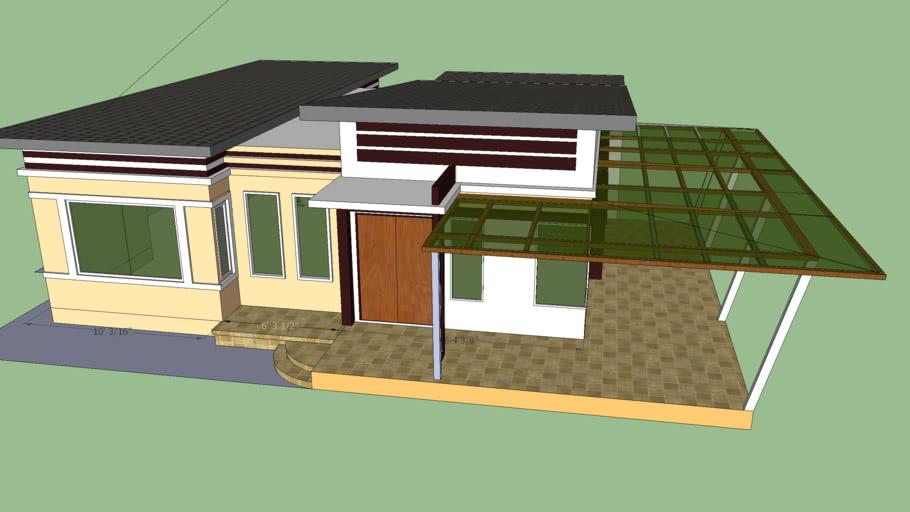 3 bedroom single storey house