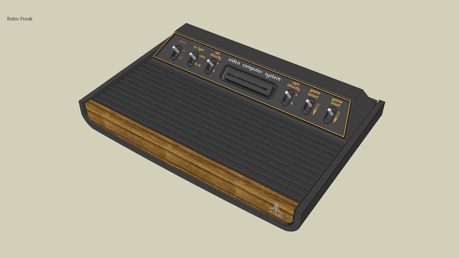 Atari Video computer system (1977)