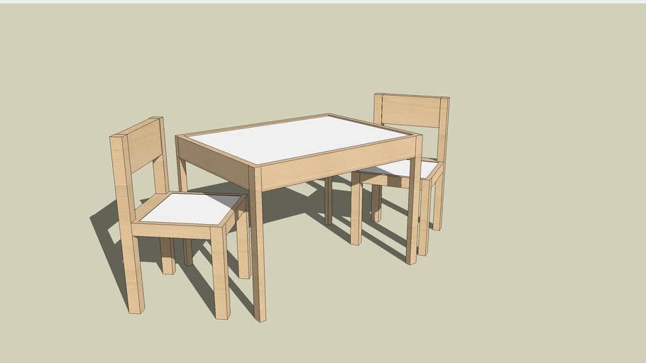 Ikea Latt Children S Table With 2