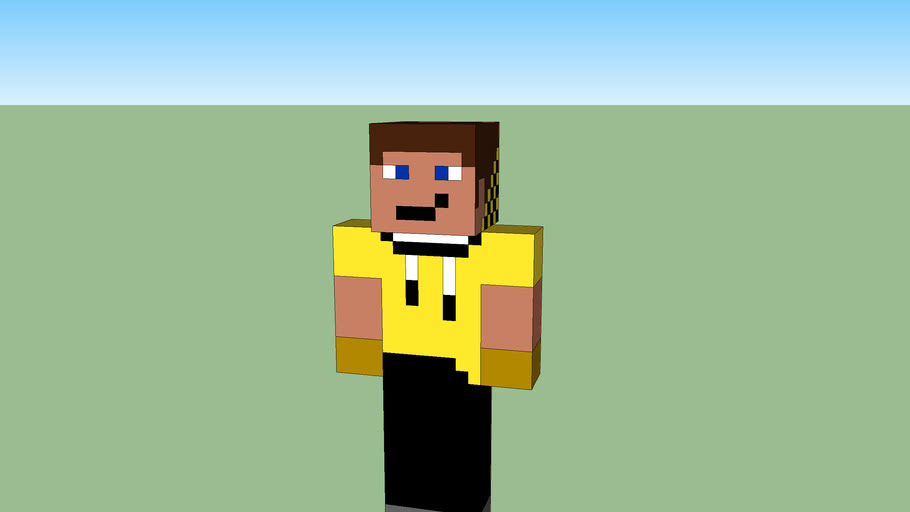 Dream Minecraft Skin | 3D Warehouse