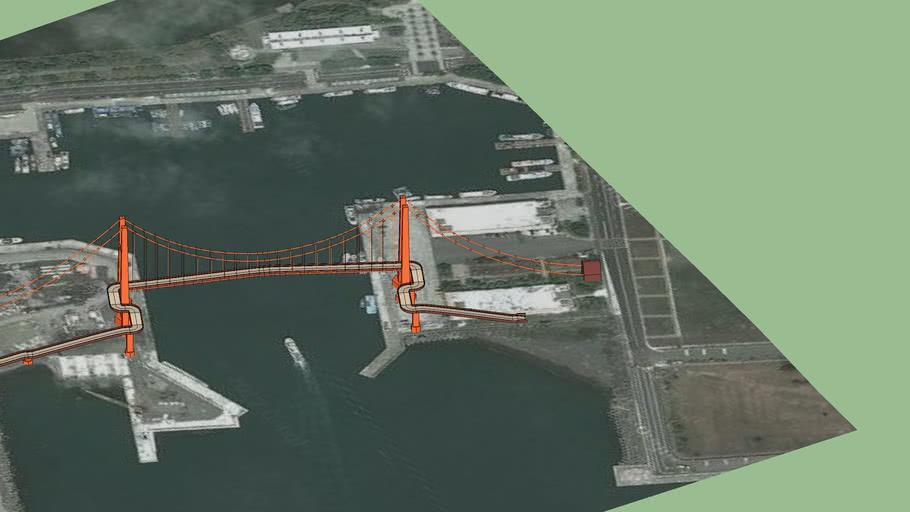 烏石港跨海自行車橋
