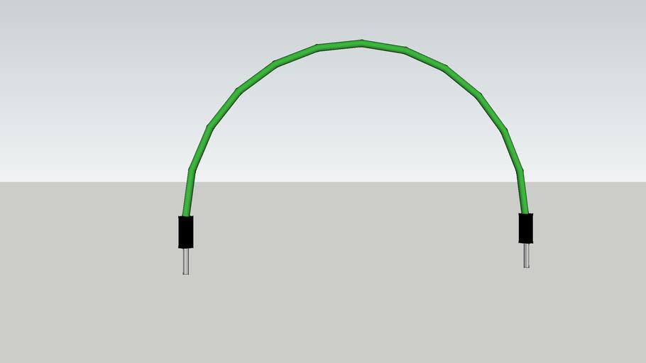Green Jumper Wire
