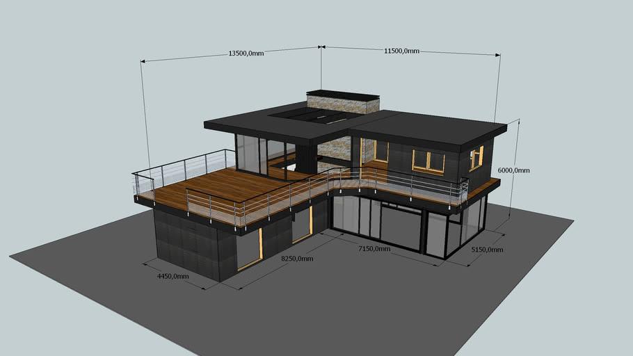 Maison Ossature Bois 3d Warehouse