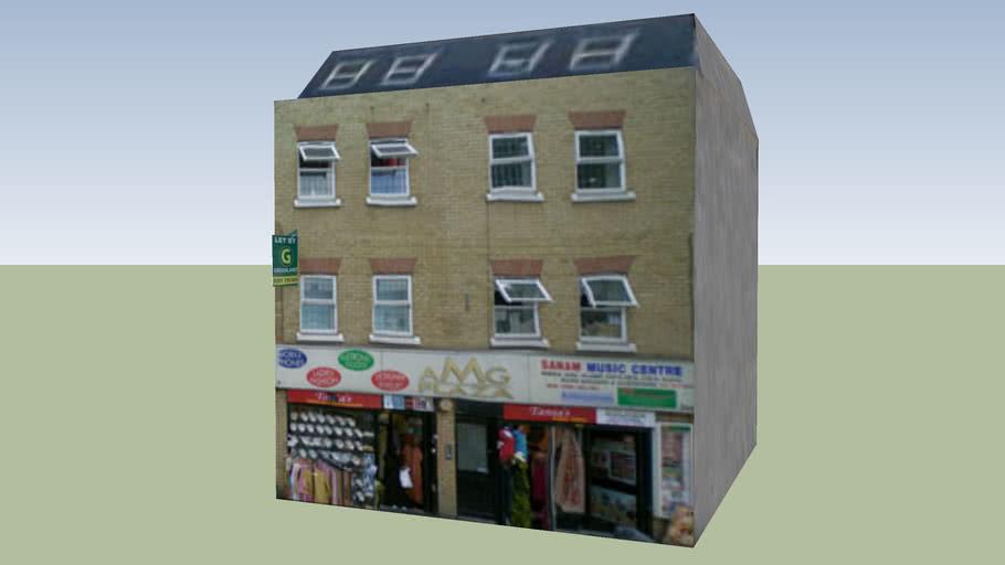Shops, Bethnal Green, London, UK