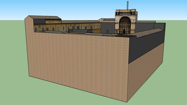 Vatican  Museums  Part 1  Museums around Pigna Courtyard | 3D Warehouse