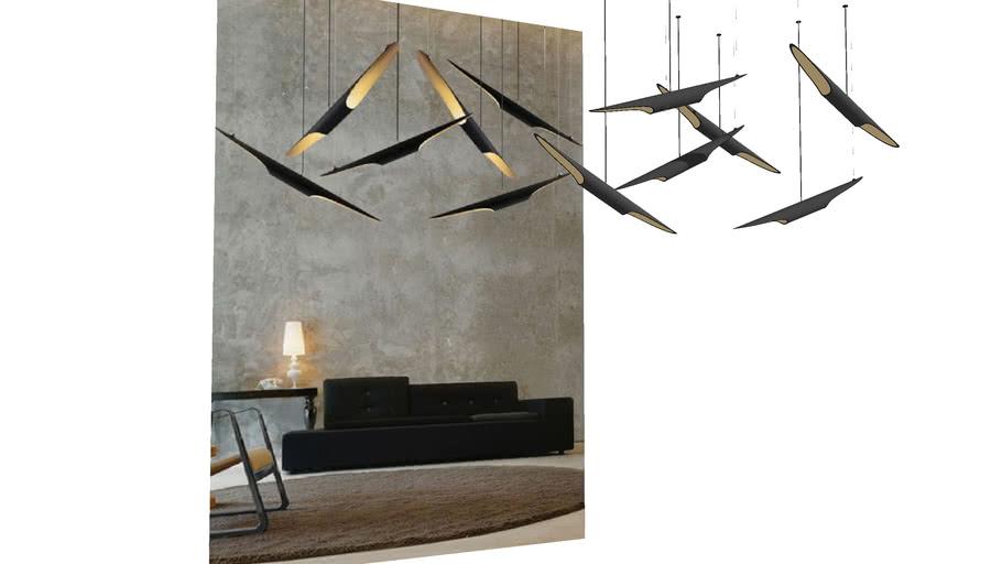 Pendente Coltrane Suspension Ceiling Lamp