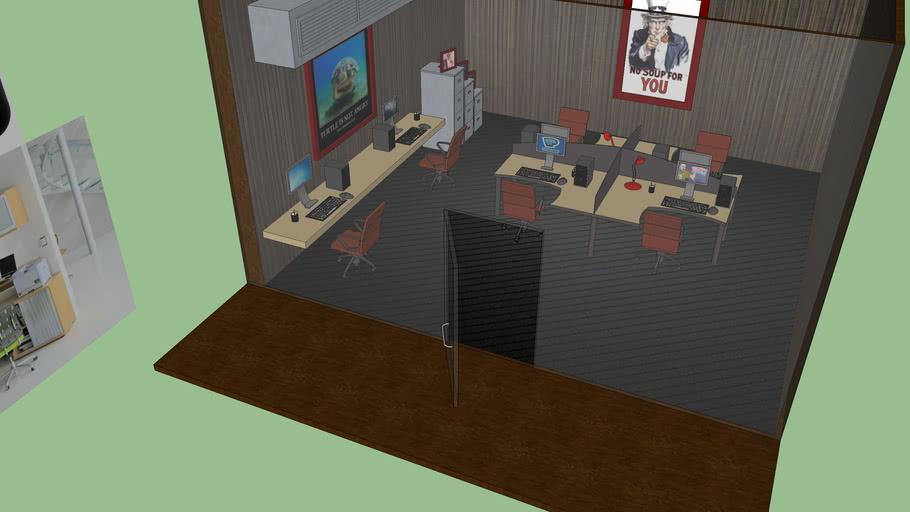 Nick's office