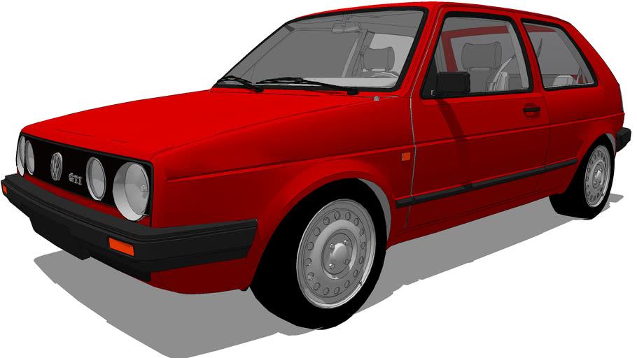 Vehicles - 1987 VW Golf Mk2 GTI