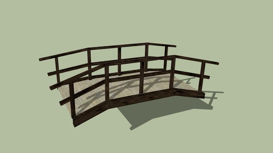 Brücke Holzkonstruktion