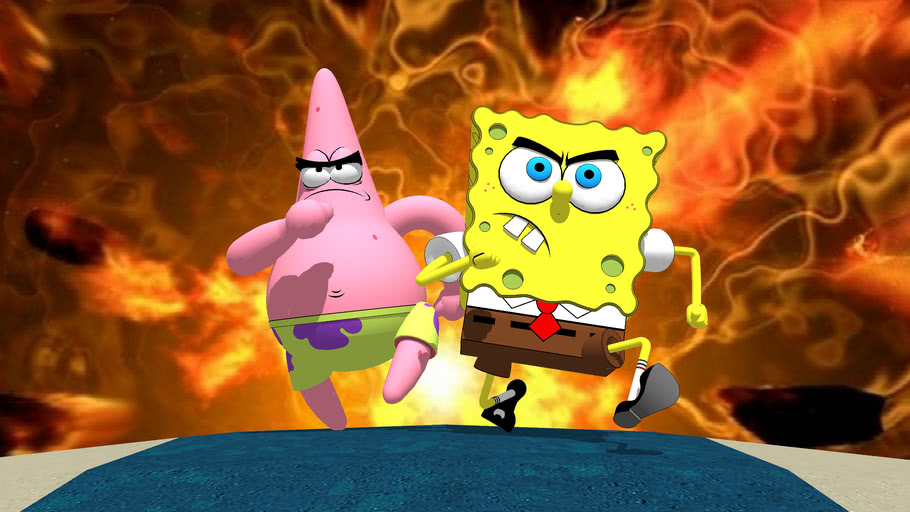 45 Gambar Spongebob Keren 3d Terlengkap Gambar Anime Keren Terlengkap
