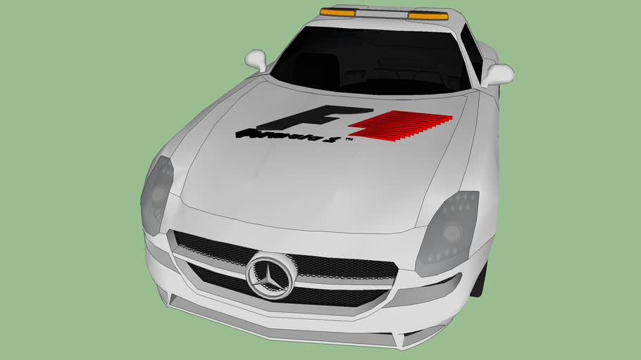 2010 f1 safety car mercedes sls