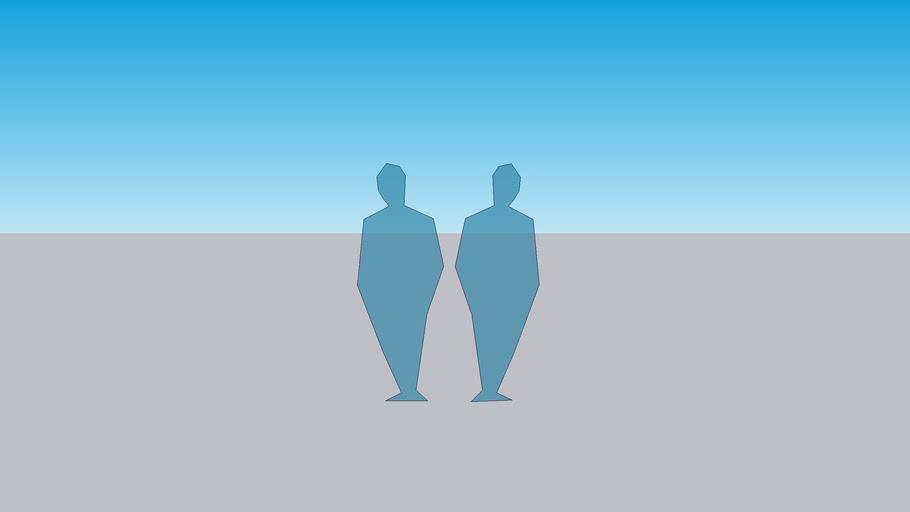 2D Ghost People