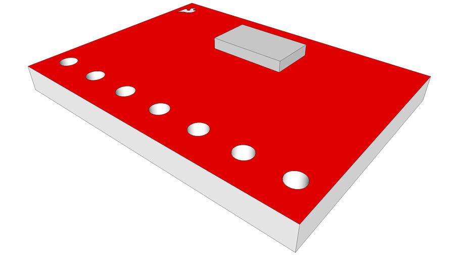 MPL115A1 Barometric Pressure Sensor Breakout SEN-09721