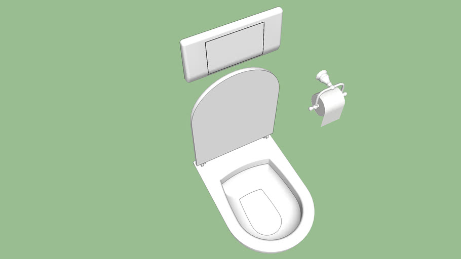 modified toilet model