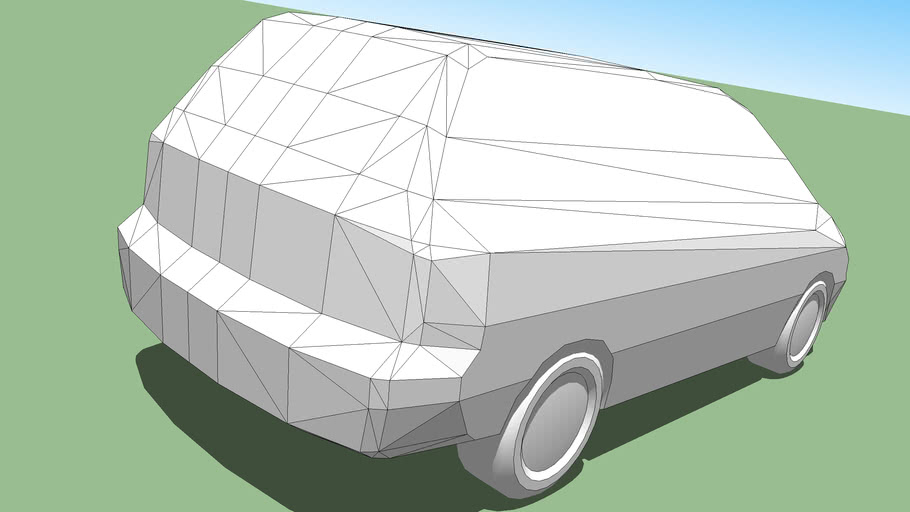 Car template (MPV)