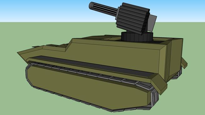 N²-100 light anti air tank