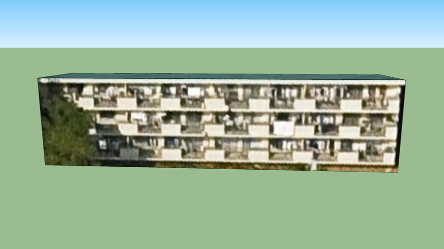 Building in Saitama City, Saitama Prefecture, Japan