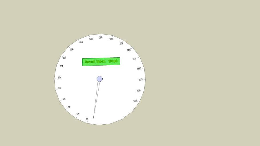 GIANT Speedometer