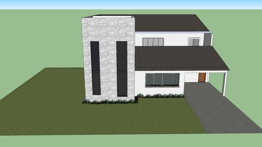 Casa arquitetura steel frame