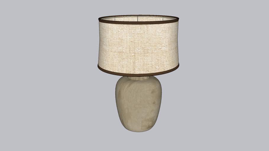 Glazed Ceramic Lamp
