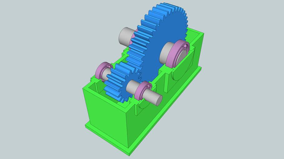 Engrenage - Pignons - Roulements - Reducteur - Gear Box - Зубчатая передача