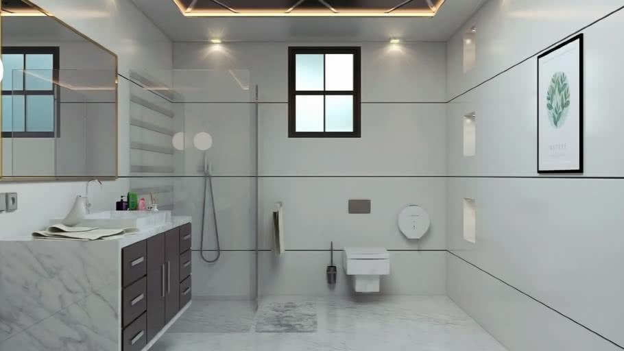 Bathroom Whİte Warehouse