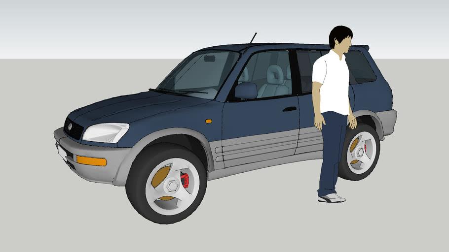 Toyota-RAV4 Long'96