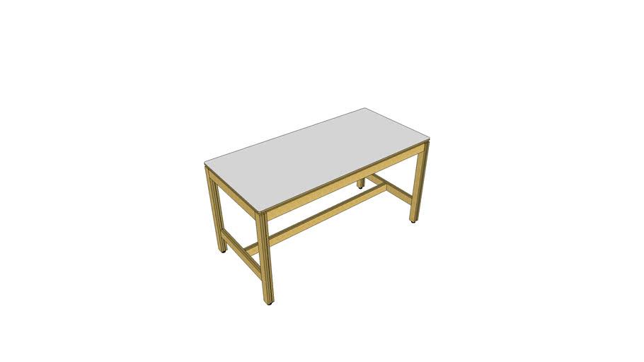 9023 -(v1)- Table haute 8 personnes, réunion, restauration
