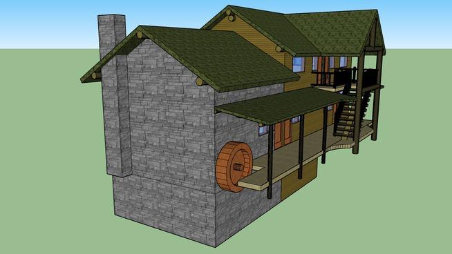 Canadian garage structure