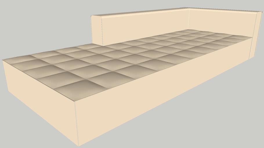 Zanotta kilt 301P sofa by emaf progetti