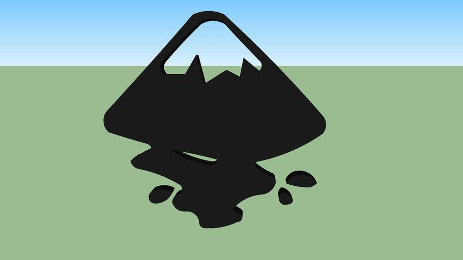 Inkscape logo 3D