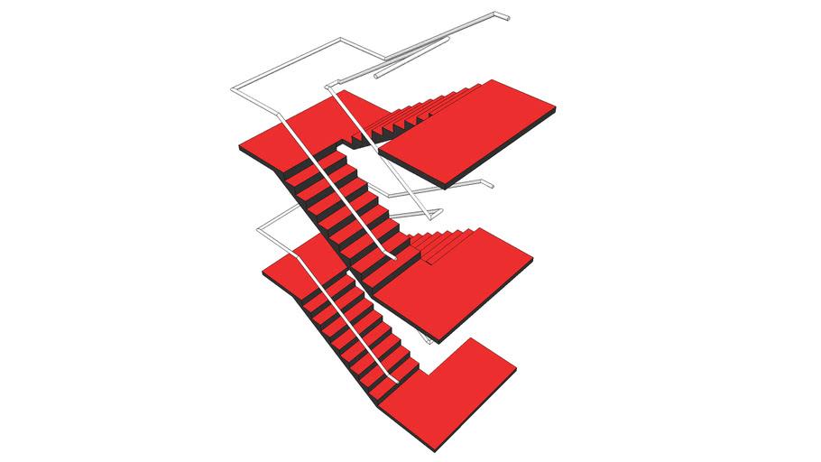 BiMUp 5D - Staircase Balustrade 02