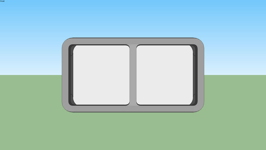 boîtier 2 postes horizontal legrand plexo