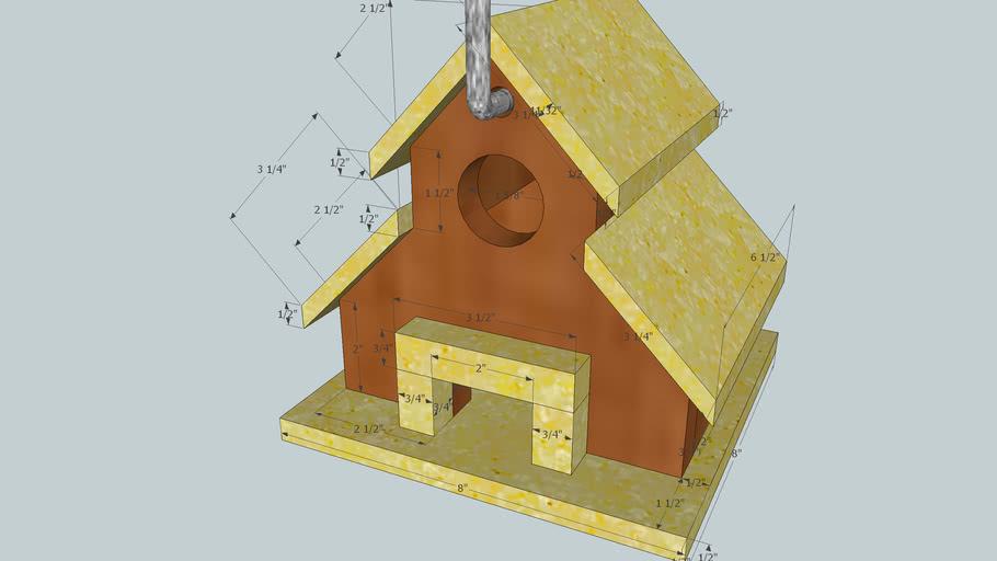 birdhouse scale: 1-1