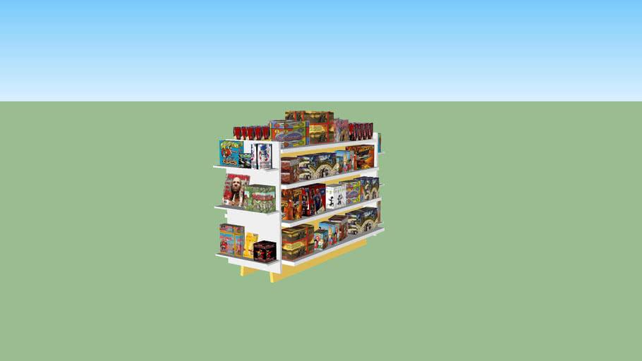 ce shelf stocked