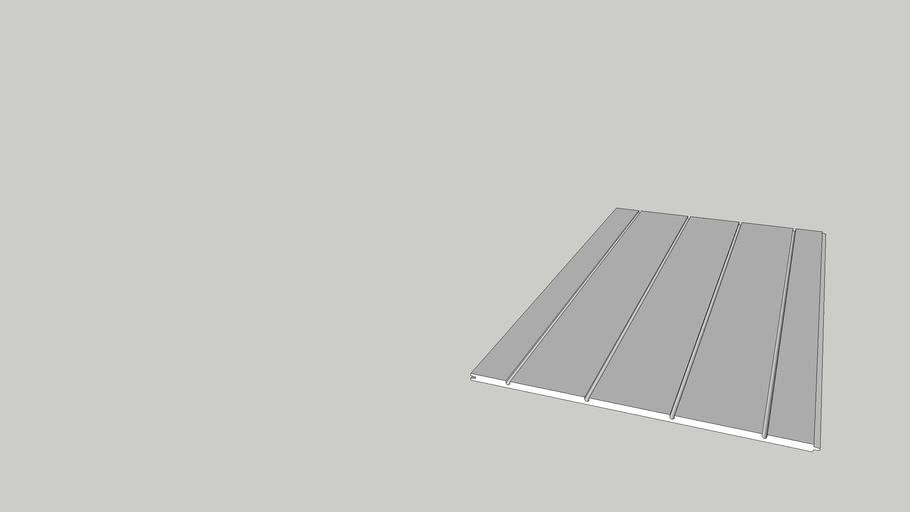 Warmboard-S Straight Metric