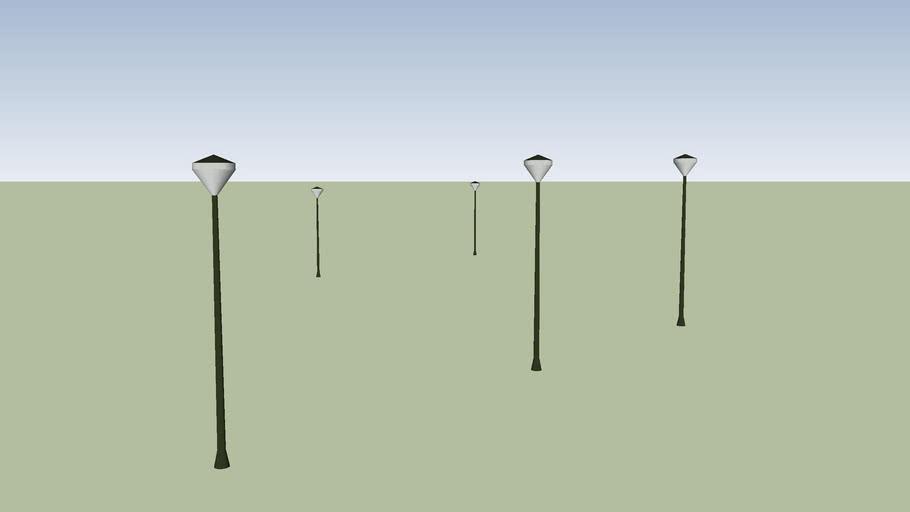 Imielin, lampy na rynku