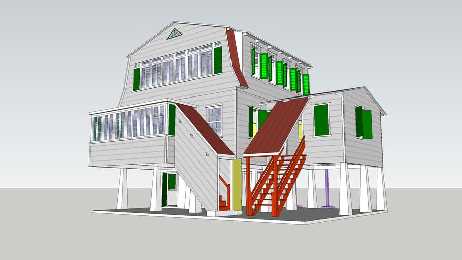 Suriname, Nieuw-Nickerie, Wilhelminastraat 11