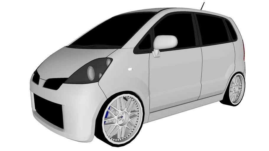 Modified Nissan Moco/Suzuki MR Wagon
