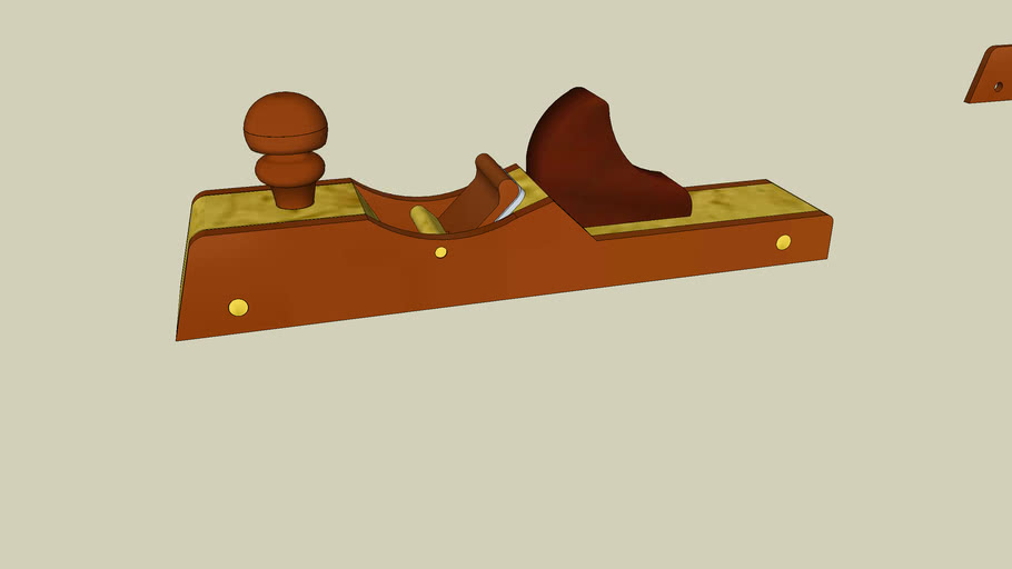 Wooden Jack Plane from Popular Woodworking Magazine December 2008 Issue